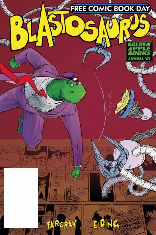 Blastosaurus Annual #1 (FCBD 2019)