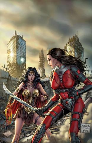 E.V.I.L. Heroes #6 (Reyes Cover)