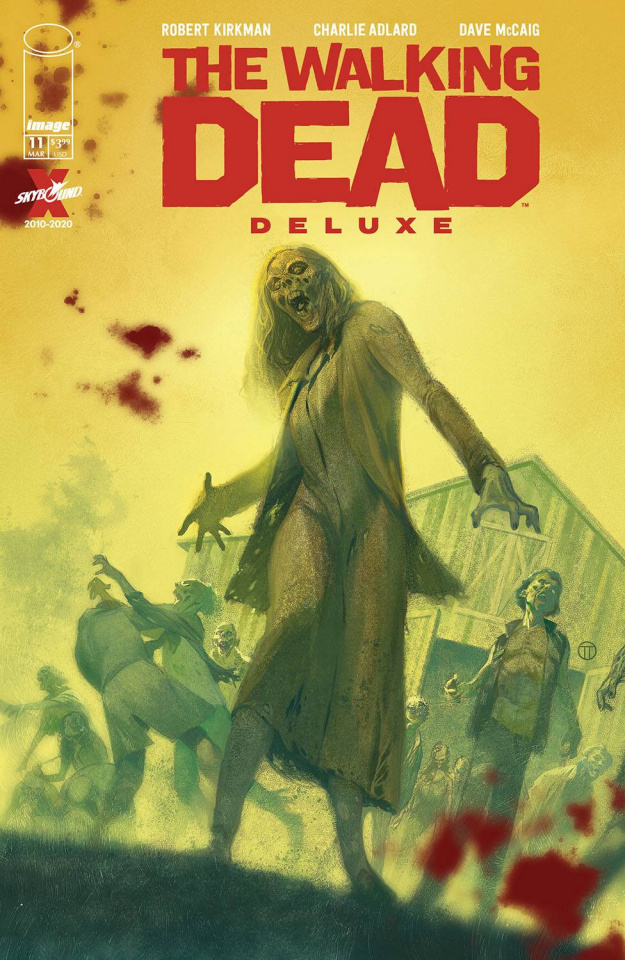 The Walking Dead Deluxe #11 (Tedesco Cover)