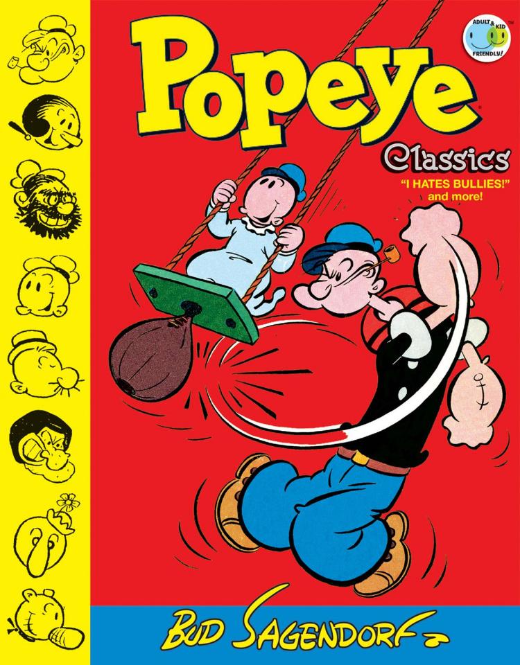 Popeye Classics Vol. 8: I Hate Bullies!