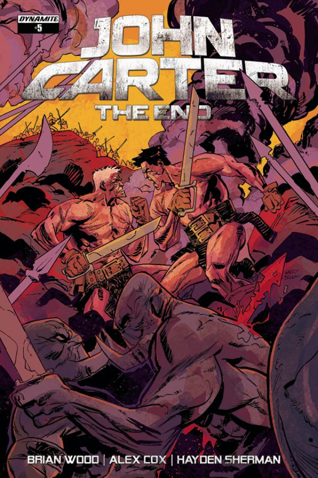 John Carter: The End #5 (Brown Cover)
