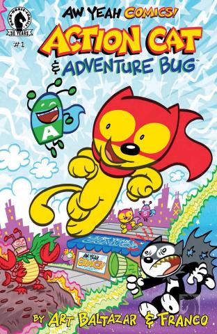 Aw Yeah Comics! Action Cat #1
