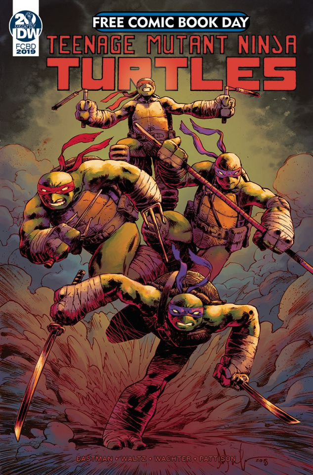Teenage Mutant Ninja Turtles: Casualty Of War FCBD 2019