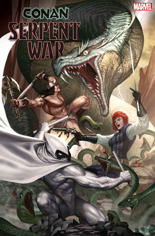 Conan: Serpent War #1 (Artist Cover)