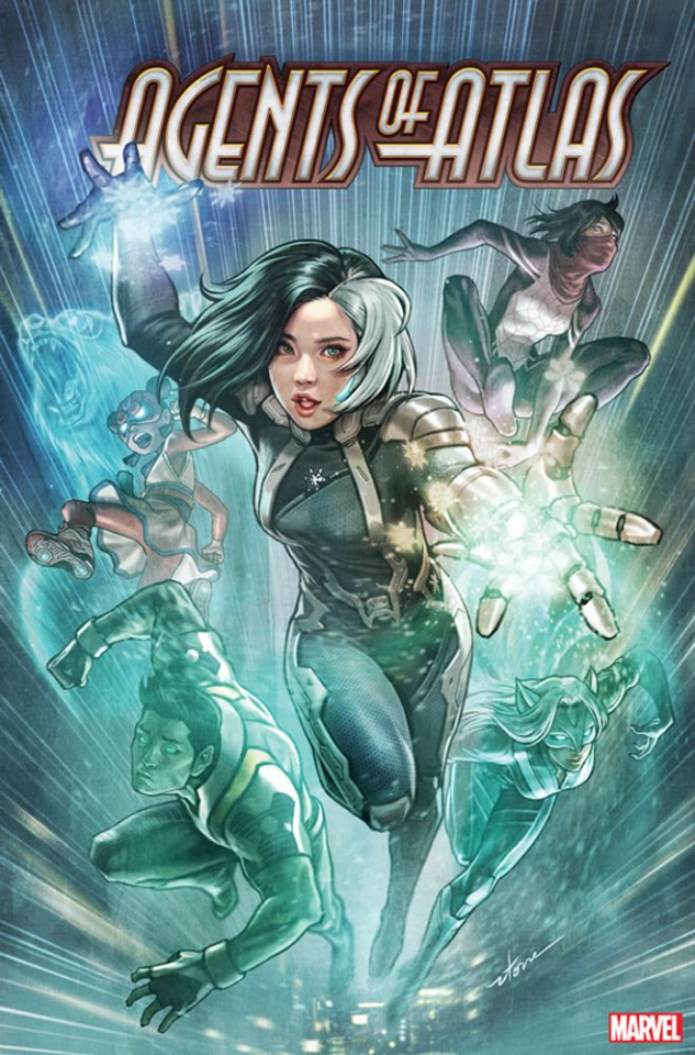 Agents of Atlas #3 (Stonehouse Cover)