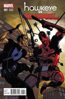 Hawkeye vs. Deadpool #1 (Pearson Cover)