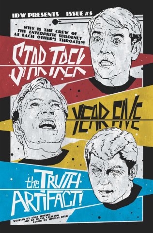 Star Trek: Year Five #5 (10 Copy Lendl Cover)