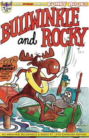 American Mythology Archives: Bullwinkle and Rocky #1 (Charlton Cover)