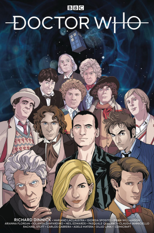 Doctor Who: The Thirteenth Doctor #0 (NYCC Cover)