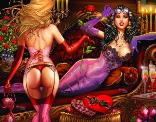 Grimm Fairy Tales Valentine's Day Special 2013 (Franchesco Cover)