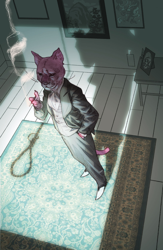 Exit Stage Left: The Snagglepuss Chronicles #5