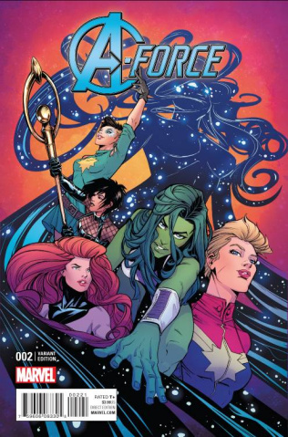 A-Force #2 (Jones Cover)