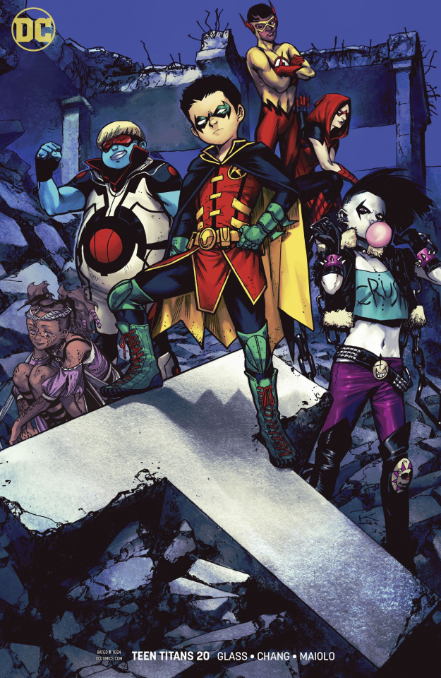 Teen Titans #20 (Variant Cover)