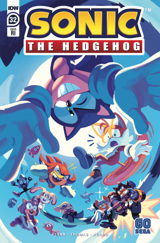 Sonic the Hedgehog #32 (10 Copy Fourdraine Cover)