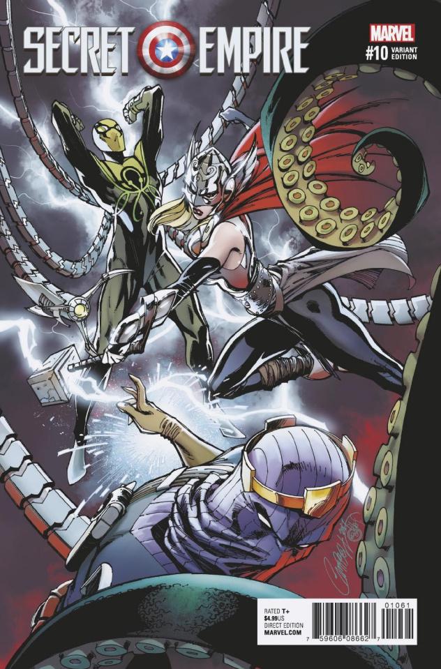 Secret Empire #10 (J.S. Campbell Cover)