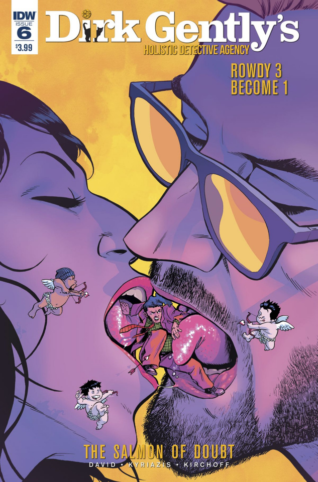 Dirk Gently's Holistic Detective Agency: The Salmon of Doubt #6