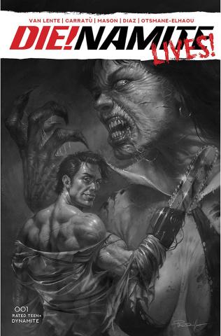 DIE!namite Lives! #1 (50 Copy Parillo Line Art Cover)