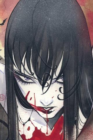 Vampirella #15 (Momoko Sneak Peek Virgin Premium Cover)