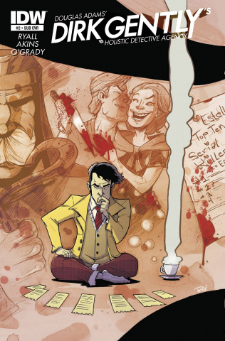 Dirk Gently's Holistic Detective Agency #2 (Subcription Cover)