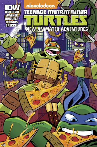 Teenage Mutant Ninja Turtles: New Animated Adventures #20 (Subscription Cover)