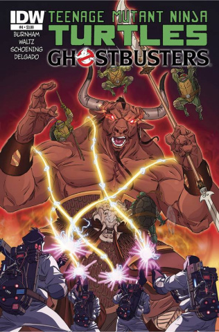 Teenage Mutant Ninja Turtles / Ghostbusters #4