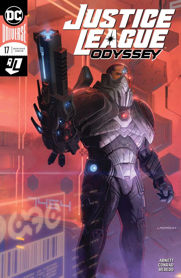 Justice League: Odyssey #17