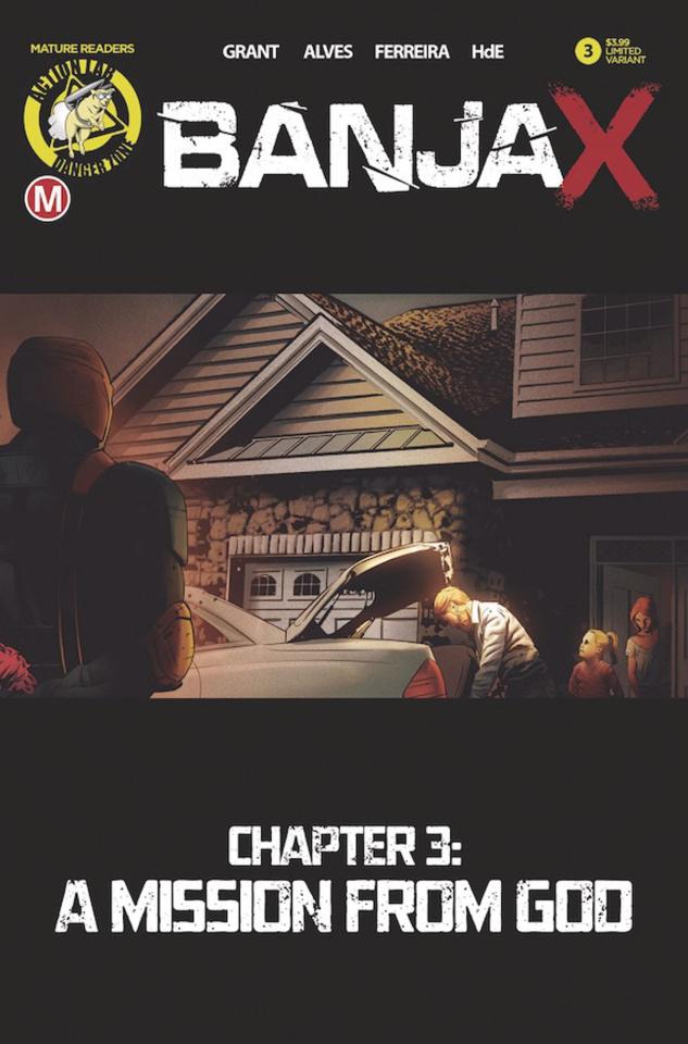 BanjaX #3 (Alves Cover)