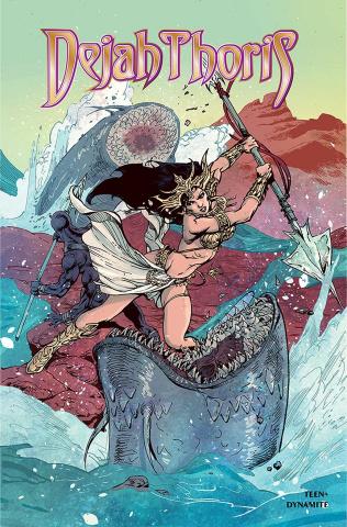 Dejah Thoris: Winter's End (Castro Cover)