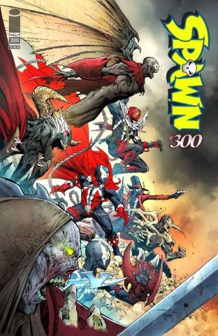 Spawn #300 (Opena Cover)