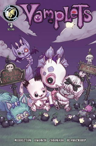 Vamplets: Nightmare Nursery #3 (Middleton Cover)
