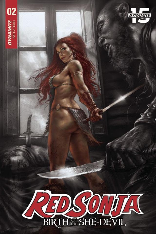Red Sonja: Birth of the She-Devil #2 (15 Copy Parillo Cover)