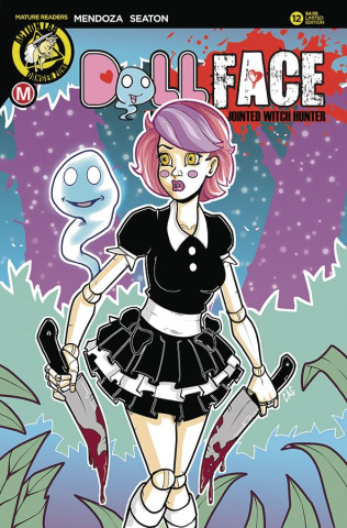 Dollface #12 (Cicconi Pin Up Cover)