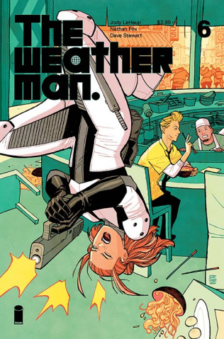 The Weatherman #6 (10 Copy Cover)