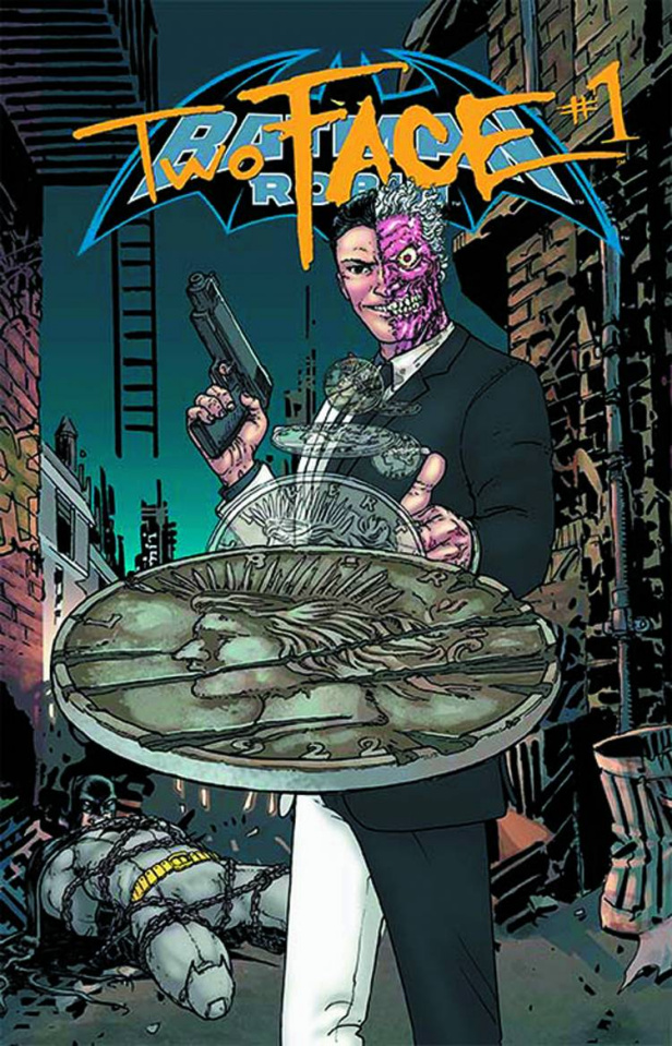 Batman and Robin #23.1: Two Face Standard Cover