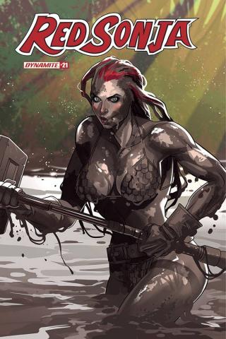 Red Sonja #21 (Stott Cover)