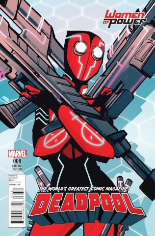 Deadpool #8 (Wu Cover)