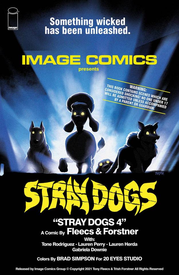 Stray Dogs #4 (Horror Movie Forstner & Fleecs Cover)
