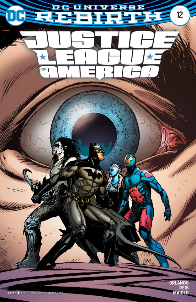 Justice League of America #12 (Variant Cover)