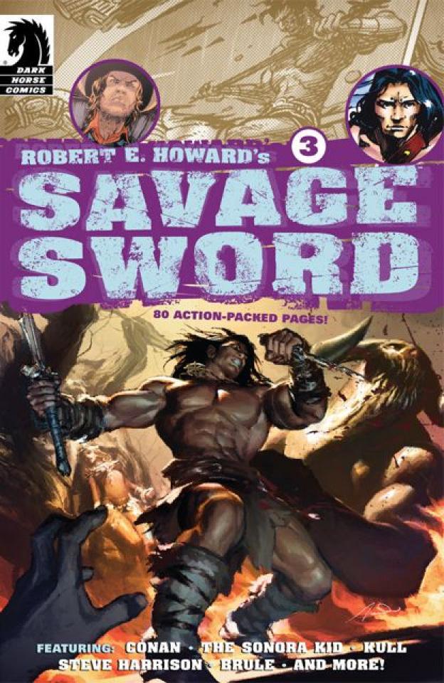 Robert E. Howard's Savage Sword #3