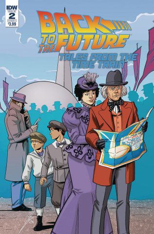 Back to the Future: Tales from the Time Train #2 (Levens Cover)