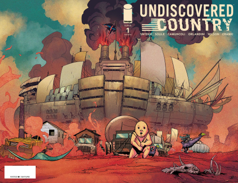 Undiscovered Country #1 (3rd Printing)
