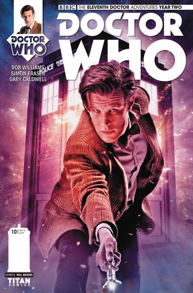 Doctor Who: New Adventures with the Eleventh Doctor, Year Two #10 (Photo Cover)