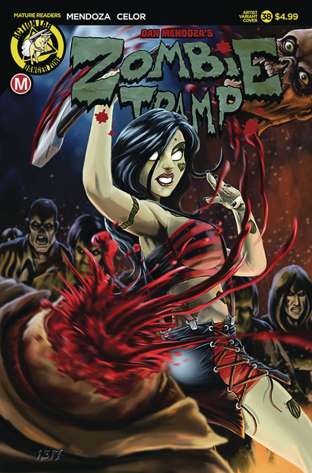 Zombie Tramp #38 (Artist Cover)
