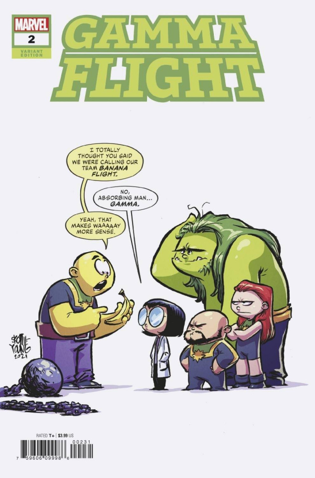 Gamma Flight #2 (Young Cover)
