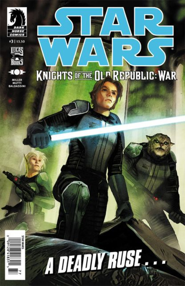 Star Wars: Knights of the Old Republic - War #3