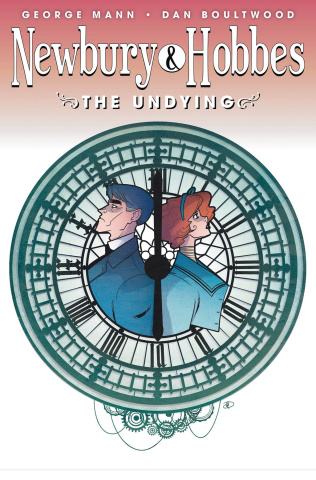 Newbury & Hobbes #4: The Undying (Boultwood Cover)