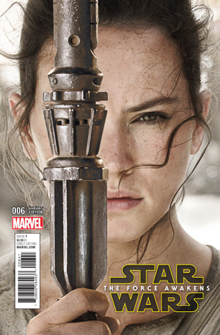 Star Wars: The Force Awakens #6 (Movie Cover)