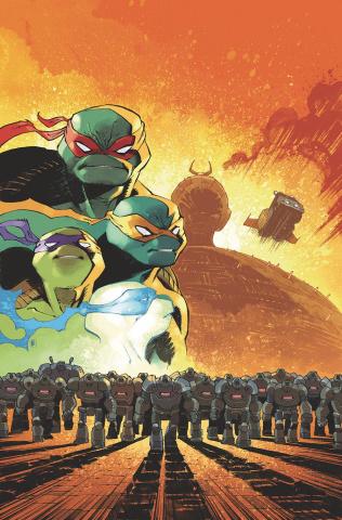 Teenage Mutant Ninja Turtles: IDW 2020 (Daniel Cover)