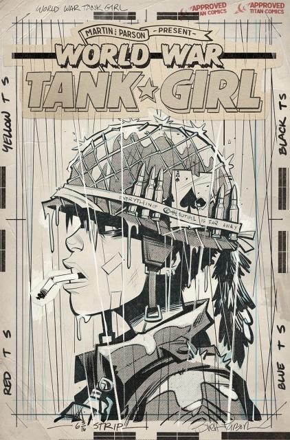 Tank Girl: World War Tank Girl #4 (Parson Cover)