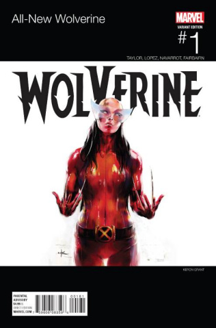 All-New Wolverine #1 (Grant Hip Hop Cover)